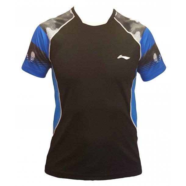 Slangerup Hold-T-shirt m. alle sponsortryk - Team Blue/Black 021