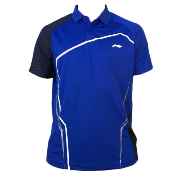 Badminton Polo - Blue sticks 273