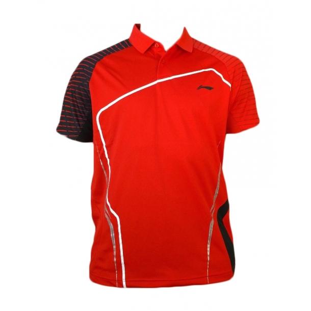 Badminton Polo - Red Sticks 273