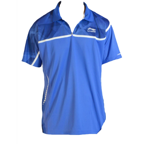 Badminton Polo - Blue & Blue 049 - Kids